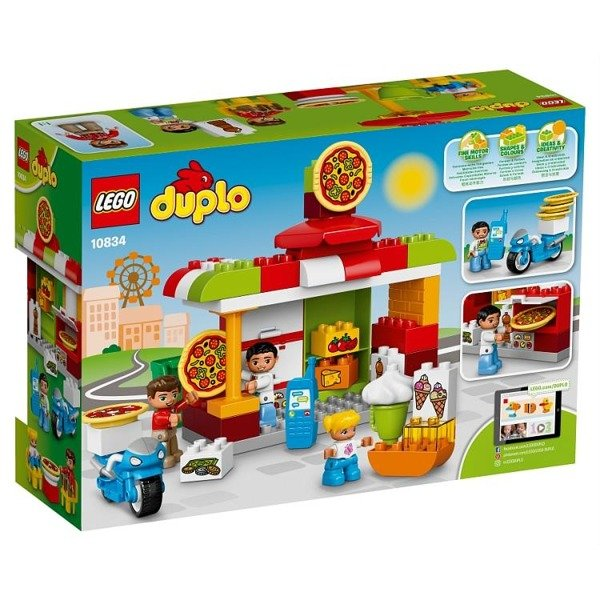 Lego Duplo 10834 Pizzeria Zabawki Lego Klocki Zabawki Klocki