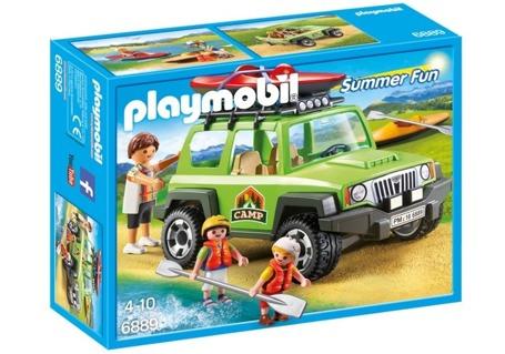 PLAYMOBIL 6889 Samochód terenowy z kajakiem
