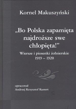 Bo Polska Zapamięta Wiersze I Piosenki Książki Literatura