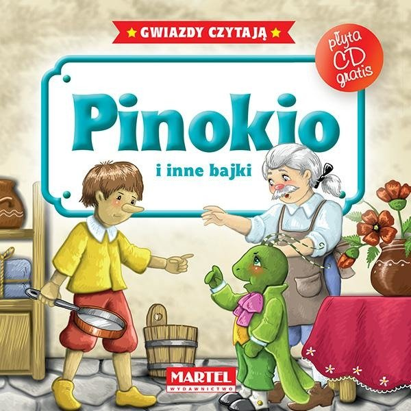 Bajki Do Poduszki Pinokio Cd