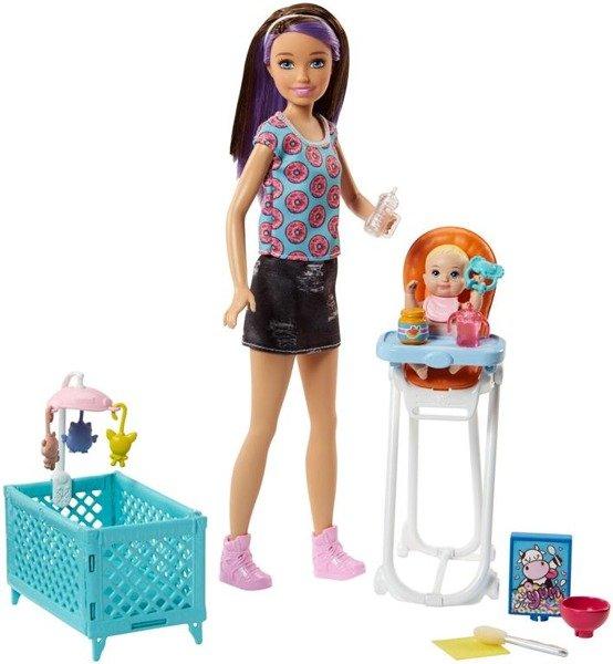 Barbie Zestaw Opiekunka Dziecięca Fhy98