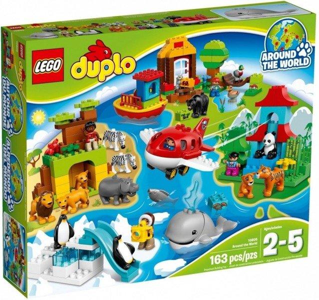 Duplo Dookoła świata Zabawki Lego Klocki Zabawki Klocki Lego