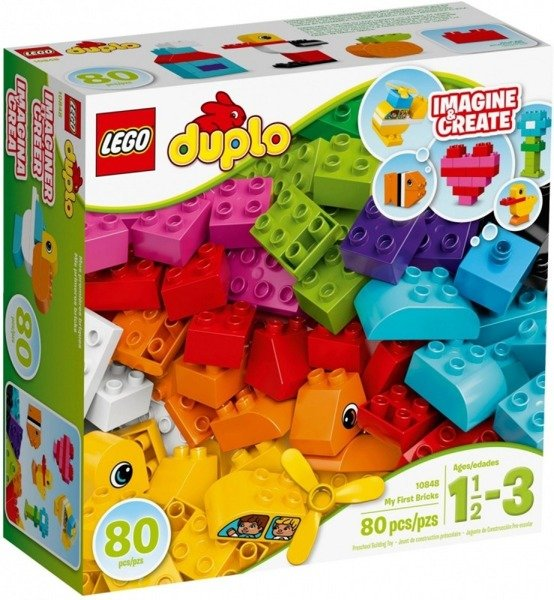 Duplo Moje Pierwsze Klocki Zabawki Lego Klocki Zabawki