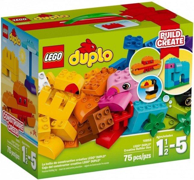 Duplo Zestaw Kreatywnego Budowniczego Zabawki Lego Klocki