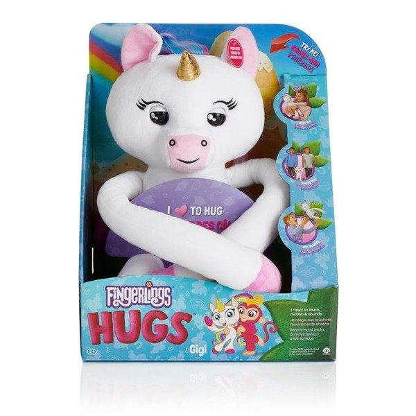 87d6395f56ed2 Fingerlings Hugs, interaktywny Jednorożec Gigi   ZABAWKI \ WowWee ...