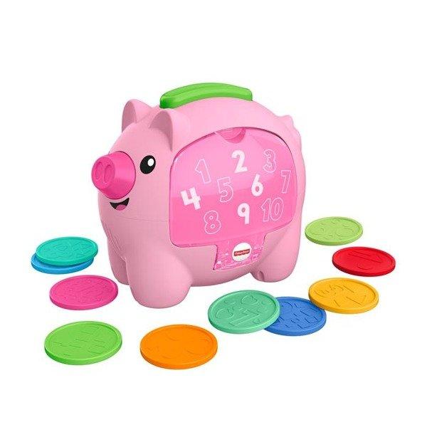 Fisher Price Edukacyjna świnka Skarbonka