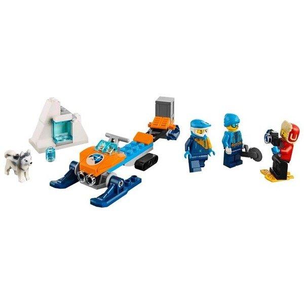 Lego City 60191 Arktyczny Zespół Badawczy Zabawki Lego Klocki