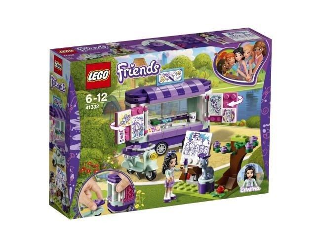 Lego Friends 41332 Stoisko Z Rysunkami Emmy Zabawki Klocki Lego