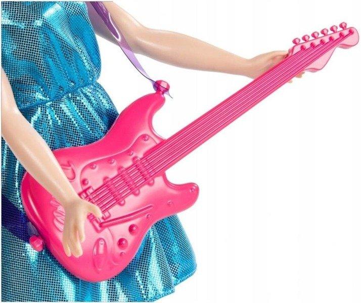 Lalka Barbie Gwiazda Pop z gitarą