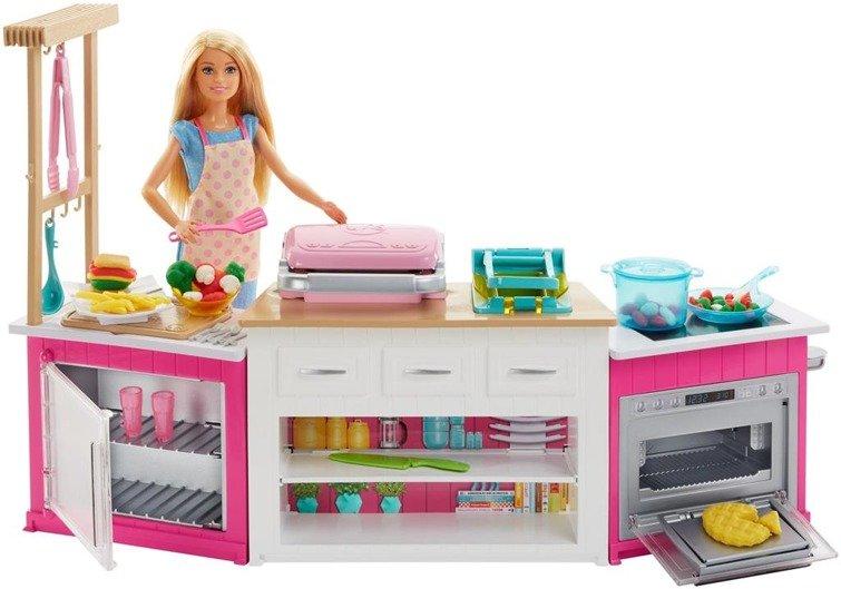 Lalka Barbie Idealna Kuchnia Frh73 Zabawki Mattel Barbie
