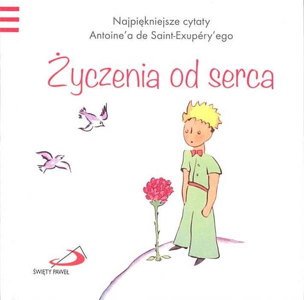 Mały Książę 3 życzenia Od Serca Książki Literatura Poezje