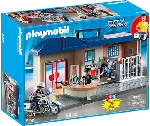 Playmobil 5299 Przenośny Komisariat Policji Zabawki Playmobil