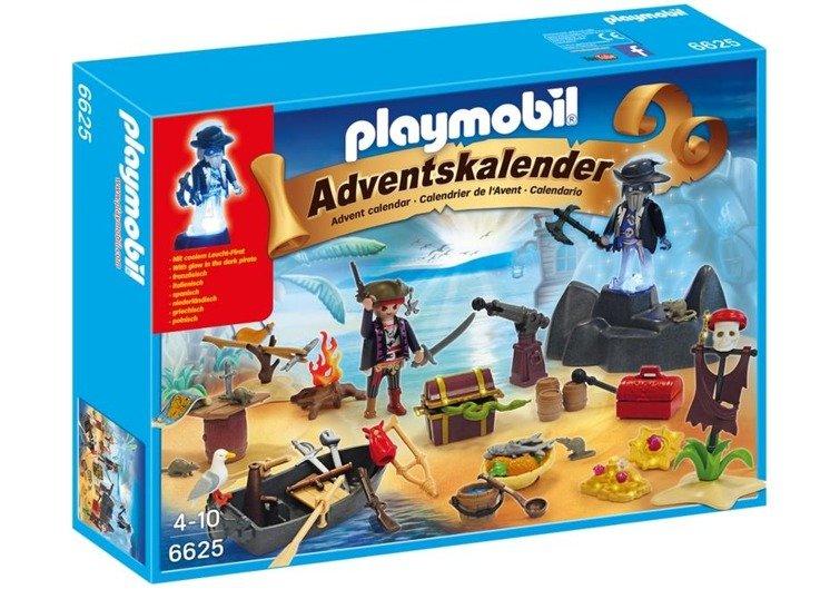 Playmobil 6625 Kalendarz Adwentowy Tajemicza Piracka Wyspa Skarbów