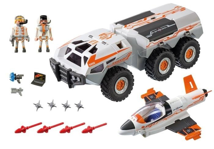 Playmobil 9255 Wehikuł Bojowy Spy Team Zabawki Playmobil Top
