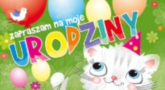Zaproszenie Urodzinowe Dla Dzieci Mix5szt Avanti Papiernicze