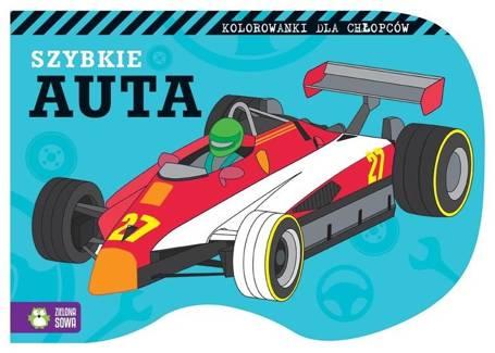 Kolorowanki Dla Chłopców Szybkie Auta Książki Dla Dzieci I
