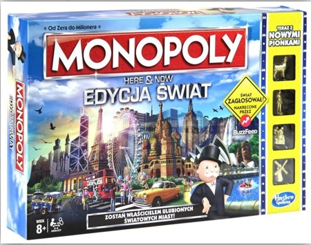 Monopoly Here & Now Świat